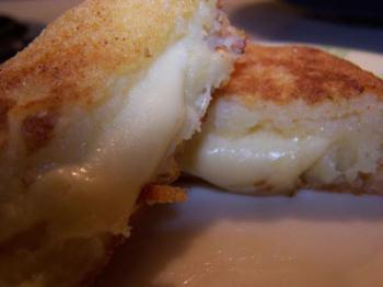 اقراص البطاطس با الجبن