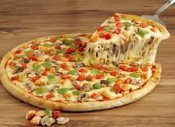 بيتزا الدجاج والمشروم