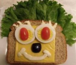 ساندوتش الجبن للأطفال