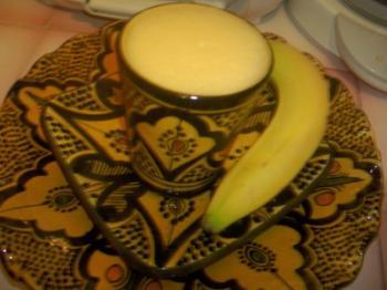 عصير التانج بالموز