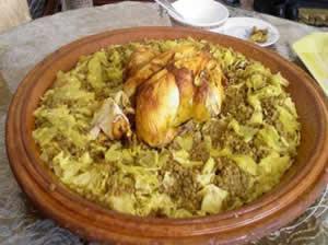 الرفيسة المغربية بالدجاج