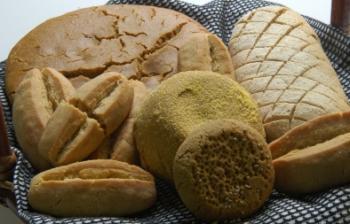 خبز الذرة مع دقيق الأرز