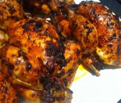 دجاج مشوى بالهريسة