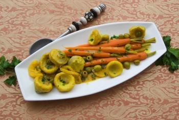 خضراوات بصوص الليمون