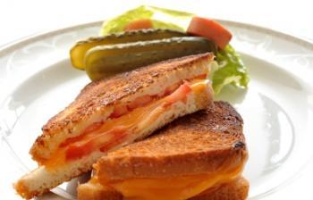 ساندوتش الجبنة المشوية
