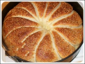 خبز معمر بدجاج