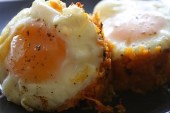 قوالب البيض بالبطاطس