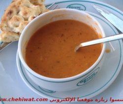 شوربة العدس الأحمر التركية لذيذة وسهلة التحضير