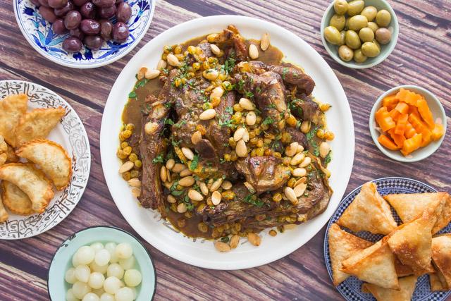 مروزية مغربية باللحم طريقة عمل على أصولها